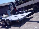Авто прицеп для погрузчика до 4 тонн